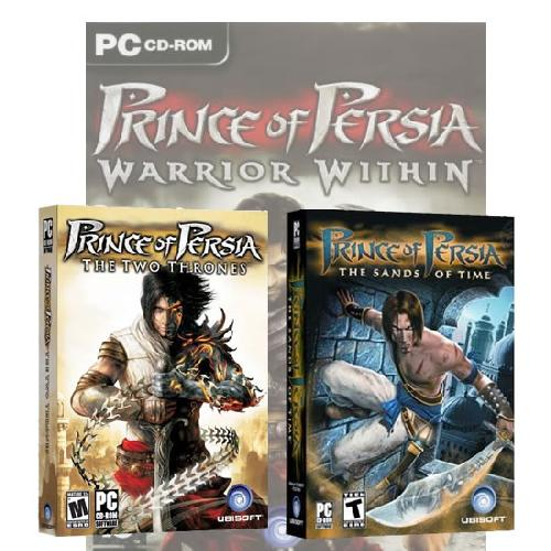 Принц Персии 3в1 / Prince of Persia GOLD EDITION 3in1 (2008) RUS
